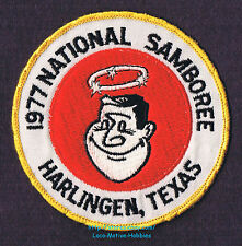 LMH Patch  1977 GOOD SAM CLUB SAMBOREE  National Rally HARLINGEN TX Star Halo 4""