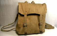 WW2 ALL INDIAN MADE INFANTRY1937 KHAKI WEBBING LARGE BACKPACK  & SHLDR STRAPS