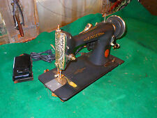 1930' Singer Model 66 CRINKLE GODZILLA WRINKLE Sewing Machine VERY RARE