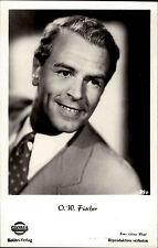 Film Kino Entertainer Schauspieler Foto Actor Porträt-AK von O. W. Fischer