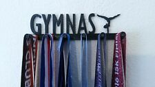 Gymnastics Gymnast MEDAL SPORTS DISPLAY,HOLDER,HANGER for Gymnasts FREE SHIP