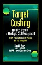 Target Costing: The Next Frontier in Strategic Cost Management-ExLibrary