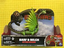 HOW TO TRAIN YOUR DRAGON NEW BARF & BELCH ZIPPLEBACK LARGE ACTION DRAGONS FIGURE