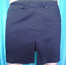 SKORTS Pleat Sporte Leisure Lawn Bowls Australia Logo White 12 14 Black 16 only