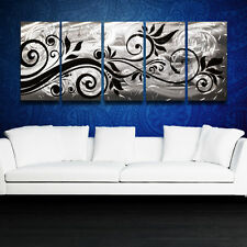 Modern Metal Wall Art Contemporary Abstract Sculpture Painting Home Decor Design