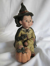 Sarah's Attic Witch Figurine Katie Limited Edition #144 1992