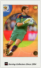 2010 Panini World Cup Soccer Trading Card Common No92 Iker Casillas (España)