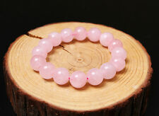 Rose Quartz 6mm Bead Bracelet  Stretch Crystal Healing Fast Free Shipping