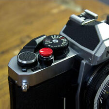 Soft Release Shutter Button For Fuji X100 X10 Leica M3 M6 M9 Rollei Nikon Red DE