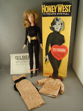 """GILBERT HONEY WEST 1966 12"""" Action figure Doll VINTAGE BOXED"""