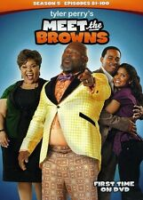 Tyler Perry's Meet the Browns: Season 5 [3 Discs] (2013, DVD NEW)