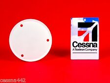 """CESSNA Factory OEM - POWDER COATED Aircraft Flap Inspection Cover 3"""" 172 182 310"""