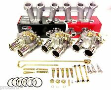 TRIPLE 45 DCOE SUIT WEBER FORD 6CYL ALLOY X-FLOW PERFORMANCE CARBY PACKAGE