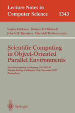 Scientific Computing in Object-Oriented Parallel Environments: First Internation