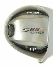 "NEW 588 XP 400 cc Titanium Driver 9.5 degree R/H,  hosel .335"", club head only"