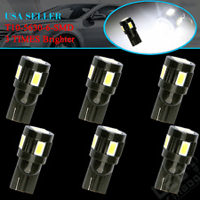 6 x NEW T10 Super White High Power 5630 SMD LED Light Bulbs 194 168 175 W5W 2825