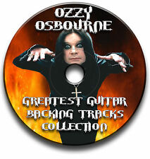 56 x OZZY OSBOURNE STYLE HEAVY METAL ROCK GUITAR MP3 BACKING TRACKS CD LIBRARY
