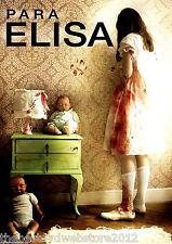 Para Elisa   DVD FORMAT   2015 Horror English Subtitles  NOW SHIPPING!