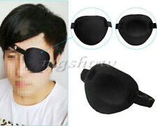 Soft Medical Use Concave Eye Patch Foam Groove Adjustable Strap Single Eyeshades