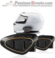 Interfono bluetooth Midland Btx1 pro twin pack doppio casco Kappa Kyt Ls2 Nolan