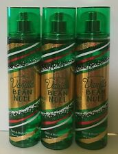 3BATH AND BODY WORKS VANILLA BEAN NOEL BODY MIST 8 OZ EACH