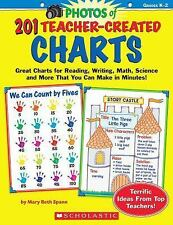 201 Teacher-Created Charts : Great Charts for Reading, Writing, Math, Science an