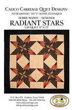 Calico Carriage Quilt Design Patterns - Radiant Stars   FREE US SHIPPING