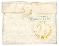 "N268 1853 Newcastleton, Scottish Borders""Stamp removed from address panel hence"""