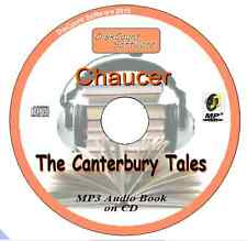 Canterbury Tales - Chaucer  MP3 Audio Book CD in 28 Episodes/Chapters