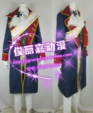 APH Axis powers Hetalia Prussia Halloween Uniform Suit Cosplay Costume J001