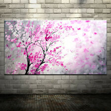 Handmade Oil Painting On Canvas Flower Tree Abstract Landscape Art Wall Pictures