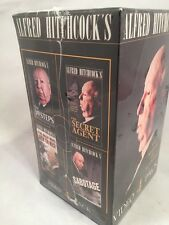 MINT NIB Alfred Hitchcock's The Master Os Suspense VHS Four Pack