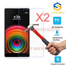 2Pcs 9H+ Premium Tempered Glass Film Screen Protector Cover For LG X Power