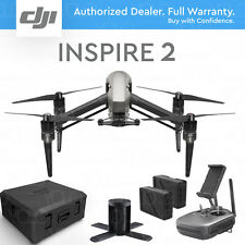 DJI INSPIRE 2 Drone w/ Charging Hub & Case. Dual battery design.