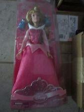 "Disney Store Exclusive Princess Aurora Doll + Fairies Sleeping Beauty New 12"""