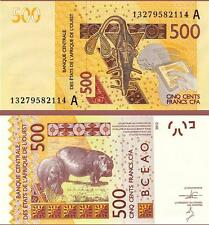 Ivory Coast - 500 West African CFA francs - UNC currency note