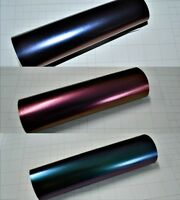Matt Chameleon Vinyl Wrap (Air/Bubble Free Matte) 3 colours Multi sizes