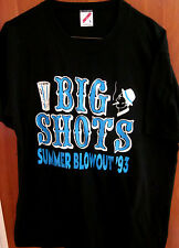 BIG SHOTS lrg  T shirt Butch & Ho Show summer blowout 1993 fedora profile tee