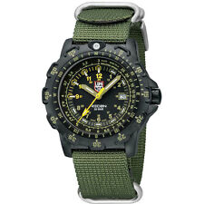 EMS Free ! Luminox Field Sports 8825.KM Recon Point Man Military Watch Green NEW