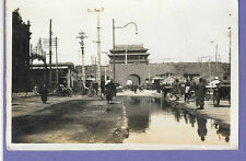 HA-TA MEU STREET SCENE PEKING CHINA ORIGINAL VINTAGE OLD PHOTO 10x6cm UY2