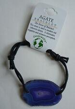 Brazilian AGATE BRACELET - US Seller - Natural Stone Fashion Jewelry - NEW A30