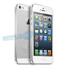 APPLE IPHONE 5, 16 GB, GRADO A, BIANCO + ACCESSORI + SCATOLA ORIGINALE