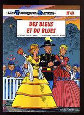 TUNIQUES BLEUES T 43  DES BLEUS ET DU BLUES    LAMBIL / CAUVIN     EO