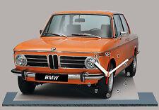 AUTO BMW 2002 Tii-02, AUTO IN OROLOGIO MINIATURA