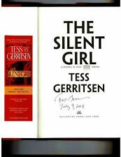 Tess Gerritsen signed & dated The Silent Girl 1/1 HC/DJ +Bookmark Rizzoli & Iles