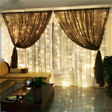 3*3M 300LED Waterfall Curtain Lights String 220V/110V Outdoor Christmas Lamp