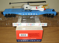 LIONEL 27935 AERIAL MISSILE TRANSPORT CAR 6820 NAVY HELICOPTER O GAUGE TRAIN PWC