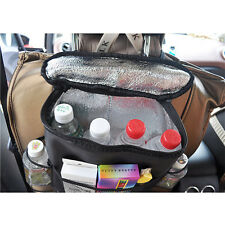 New Multi-Pocket For Accessories Car Seat Back Insulation Storage Bag Organizer