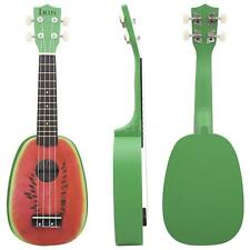 "21"" Ukelele Ukulele 4 Strings Colorful Lovely Watermelon Basswood Gift B9U0"