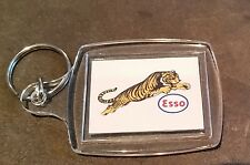 ''ESSO  TIGER'' KEY RING ADVERTISING PROMO PETROL OIL SERVICE STATION FUEL GAS